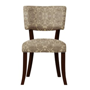 Petra Brown Fabric Side Chair (Set of 2) by Darby Home Co