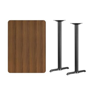 Coraline Rectangular Laminate Pub Table by Symple Stuff New Design