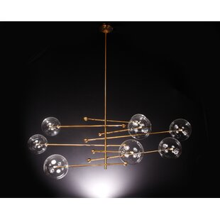 Everly Quinn Alapaha 8-Light Sputnik Chandelier