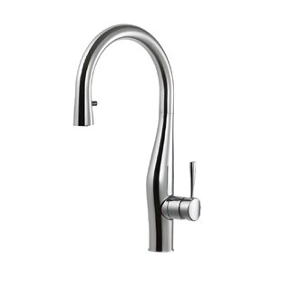 Houzer Vision Hidden Pull-down Single Handle Kitchen Faucet