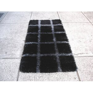 Delsik Black/Grey Rug