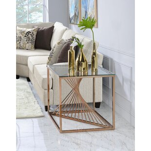 Welwyn End Table by Brayden Studio