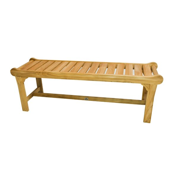 HiTeak Furniture Teak Park Bench | Wayfair