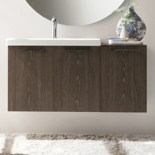 Price comparison Welcher 42 Single Modern Bathroom Vanity Set By George Oliver