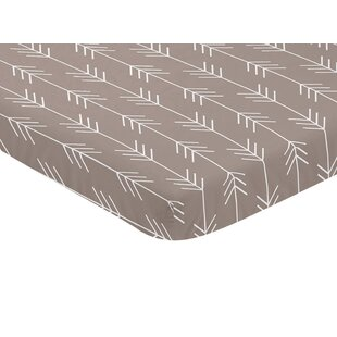 Inexpensive Outdoor Adventure Arrow Print Fitted Mini Crib Sheet By Sweet Jojo Designs