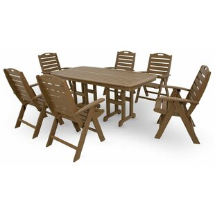 Trex Outdoor Yacht Club 7 Piece Dining Set