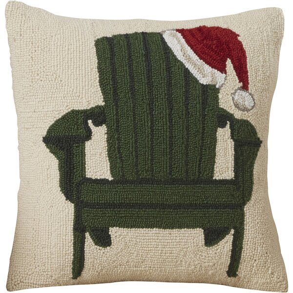 Hooked Wool Christmas Pillows Wayfair