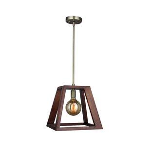 Corrigan Studio Cedric 1-Light Square/Rectangle Pendant
