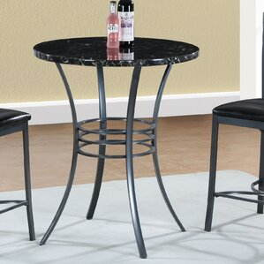 Shrutika Counter Height Round Dining Table by Orren Ellis