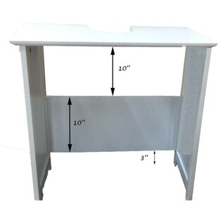 Compare prices Mahe Non Pedestal 23.10 Bathroom Vanity Base Only ByEvideco