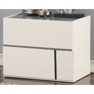 Forand 2 Drawer Nightstand by Orren Ellis