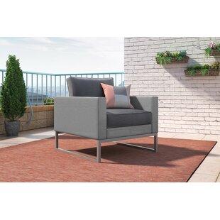 Elle Decor Tropez Patio Chair with Cushion
