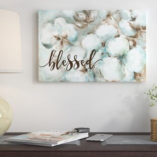 Ripe Cotton Bolls On Branch  Art Print Home Decor Wall Art Poster G