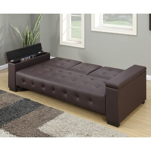 Compare prices Cortez Adjustable Storage Sofa by A&J Homes Studio Reviews (2019) & Buyer's Guide