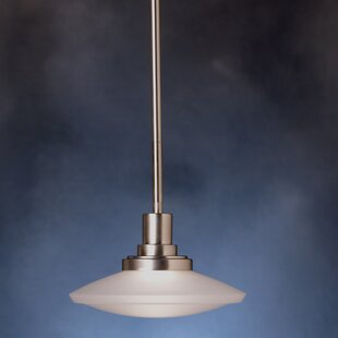 Masontown 1-Light Schoolhouse Pendant by Latitude Run
