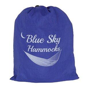 Single Ultralight Nylon Camping Hammock by Blue Sky Hammocks