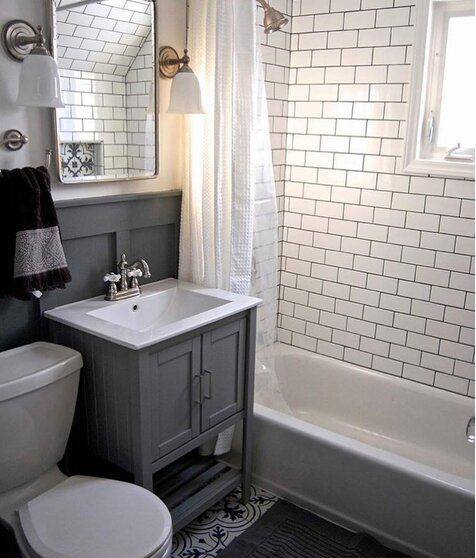 justbedaily cottagecountry bathroom design - Bathroom Design Ideas