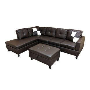 Roughton Modular Sectional with Ottoman