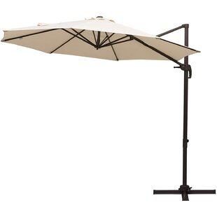 Roma 3m Cantilever Parasol By Outsunny