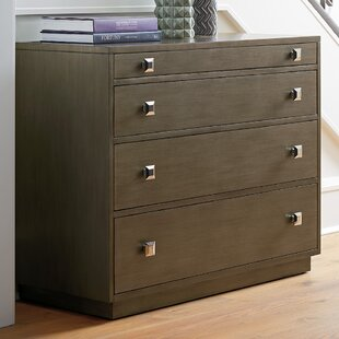 Ariana 4 Drawer Dresser With Mirror by Lexington Reviews