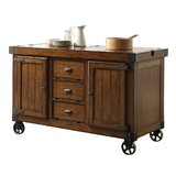 Whittlesey Kitchen Cart by Loon Peak®
