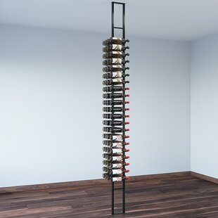 Floating 84 Bottle Wall Mounted Wine Rack..