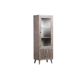 Huya Curio Cabinet By Bloomsbury Market
