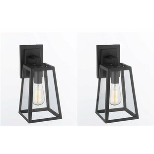 Mcnair Filament Outdoor Wall Lantern (Set of 2) by Williston Forge