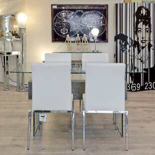 Bort Dining Set With 4 Chairs By Wade Logan