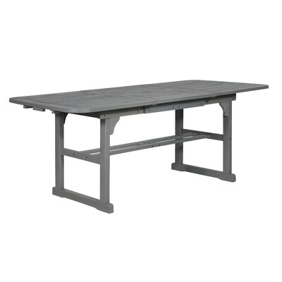 Tim Extendable Wooden Dining Table by Birch Lane™ Heritage Spacial Price