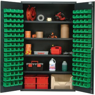 78 H x 48 W x 24 D Welded Storage Cabinet by Quantum Storage