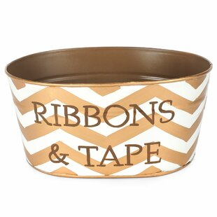Trend Chevron Ribbon and Tape Tub By Jayes