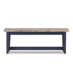 Benedict Wood Bench By Brambly Cottage