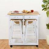 Sahra Island Kitchen Cart by August Grove®