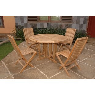 Farnam 4 Piece Teak Dining Set