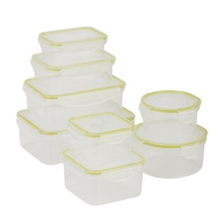 Snap Tab 142 Oz. 8 Container Food Storage Set