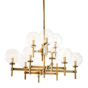 Jade 12-Light Sputnik Chandelier by Eichholtz