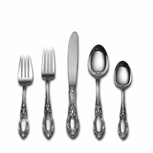King Richard 66 Piece Sterling Silver Flatware Set, Service for 12 By Towle Silversmiths