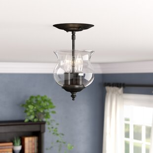 Ryedale 3-Light Semi Flush Mount by Three Posts
