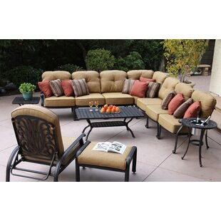 Three Posts Lebanon 11 Piece Sectional Set with Cushions