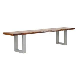 Barku Wood And Metal Bench By Massivum
