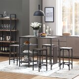 Brendis 5 Piece Dining Set by 17 Stories