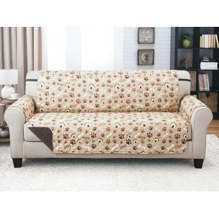 Inexpensive Print T-Cushion Sofa Slipcover by Winston Porter Reviews (2019) & Buyer's Guide