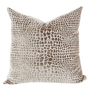 Fawn Velvet Throw Pillow