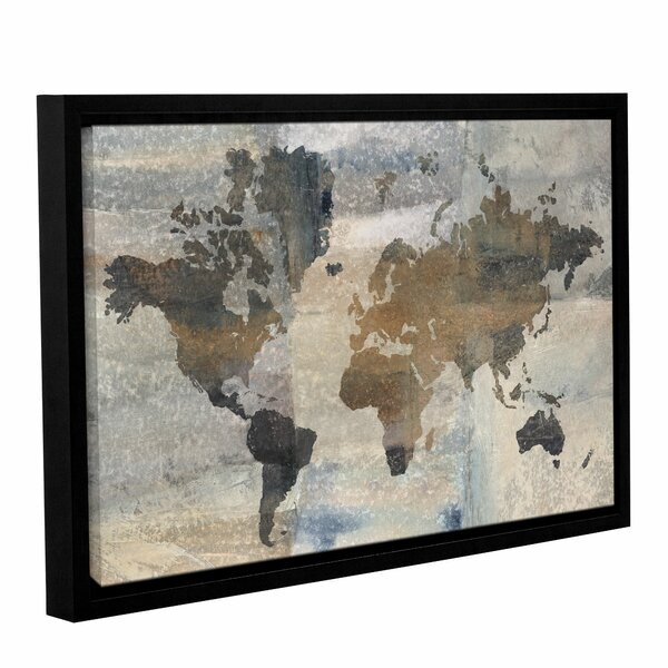 'Stone World' Framed Painting Print