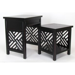 Hopkins 2 Piece Nesting Tables by Bayou Breeze