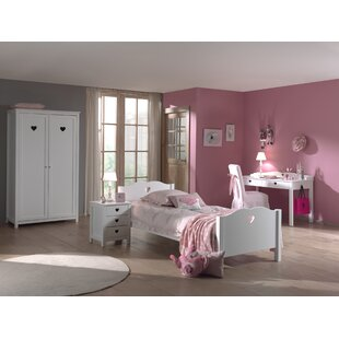 Amori 4 Piece Bedroom Set by Vipack