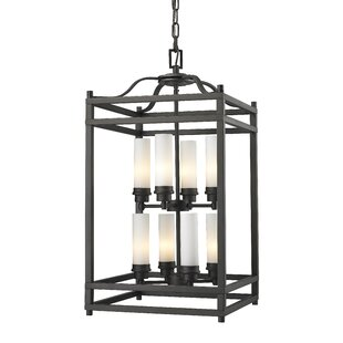 Bloomsbury Market Humiston 8-Light Metal Foyer Pendant