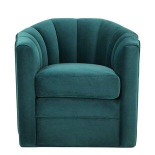 Affordable Delancey Barrel Chair by Eichholtz