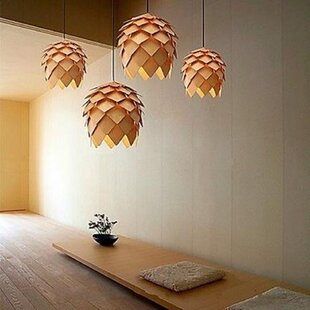 Kaira 1-Light Novelty Pendant by Wrought Studio
